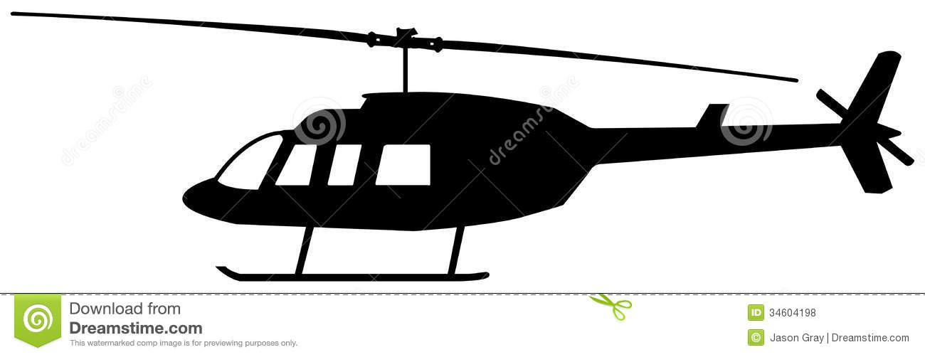 1300x502 Helicopter Silhouette Clip Art