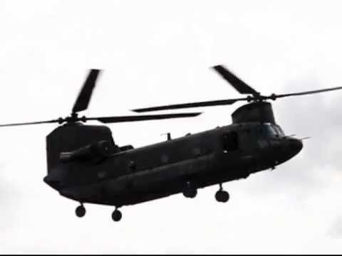 480x360 Ch47 Chinook Silhouet In Slow Motion