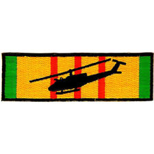 225x225 Ch 46 Chinook Silhouette On Vietnam Service Ribbon Patch Ebay