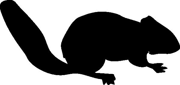 600x283 Chipmunk Silhouette Clip Art