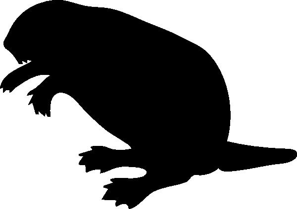 600x424 Contour Chipmunk Clip Art Free Vector 4vector