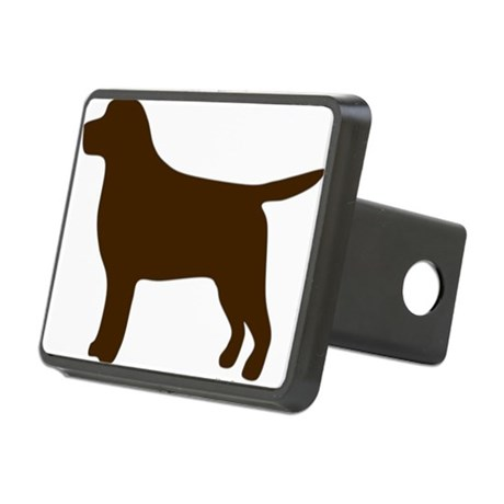 460x460 Chocolate Lab Hitch Covers