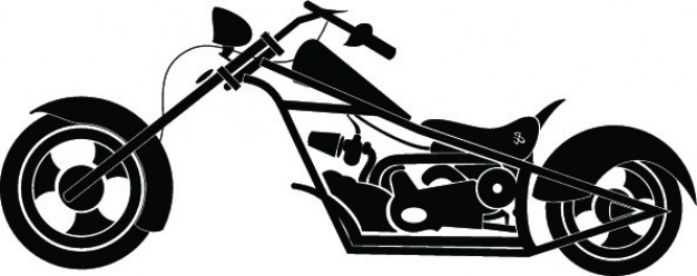 626x248 Motorcycle Detailed Silhouette Icon Vector Vector Free Download