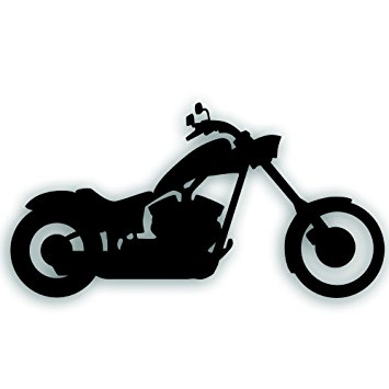 355x355 Motorcycle Decal
