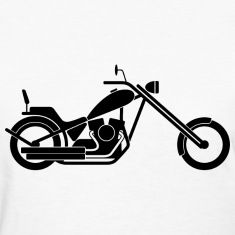 235x235 Silhouette, Pictogram, Icon, Symbol, Bike, Motorcycle, Chopper