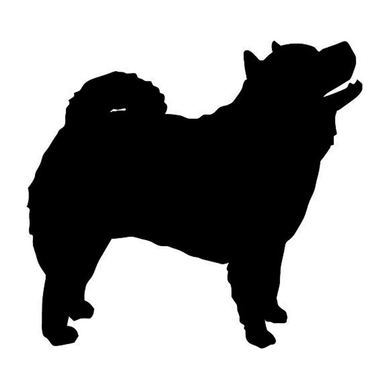 Chow Chow Silhouette