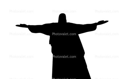 418x279 Christ The Redeemer Silhouette, Statue, Landmark, Jesus Christ