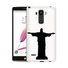 236x236 Lg G4 Silhouette Christ The Redeemer Brazil On Black Case Black
