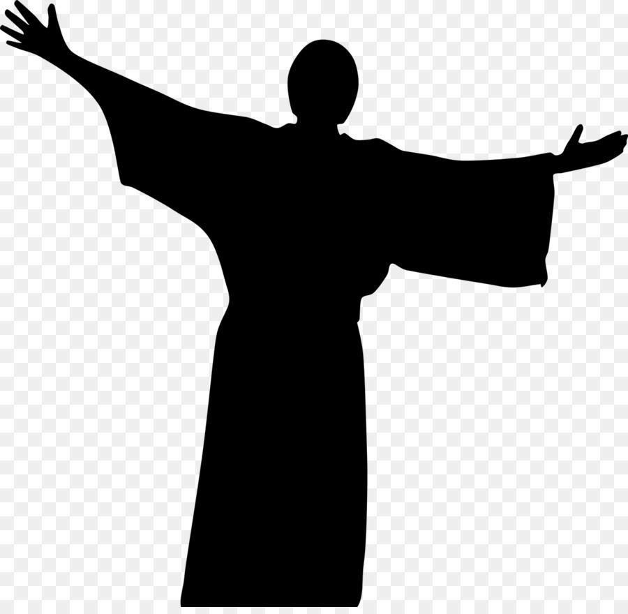 900x880 Silhouette Christian Cross Clip Art