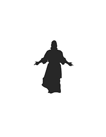 425x550 Silhouette Image Of Resurrection Of Jesus Christian Faith Easter