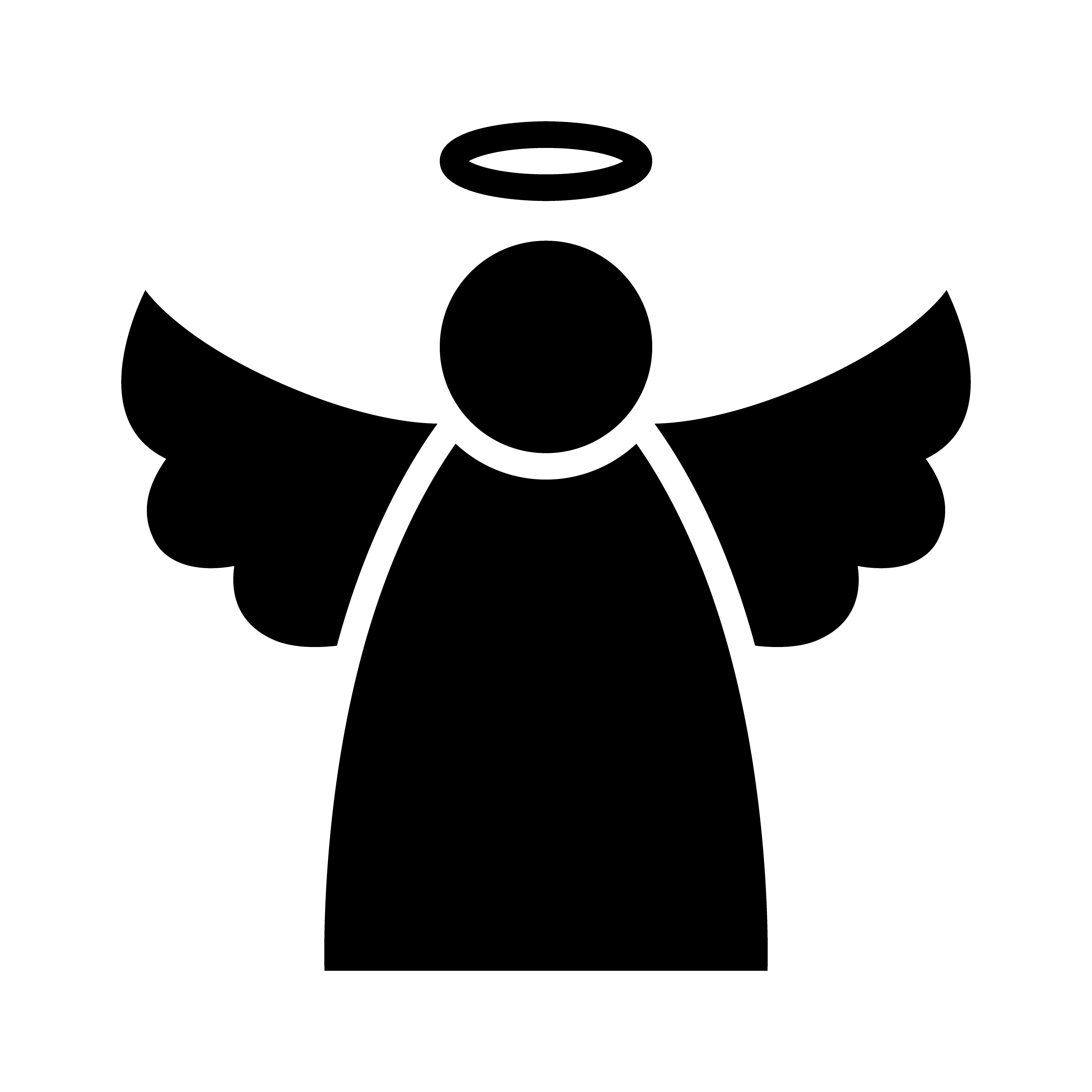 christmas angels silhouette christmas angel silhouette at getdrawings com free for 1358