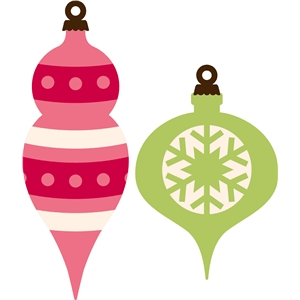 Christmas Balls Silhouette At Getdrawings Com Free For Personal