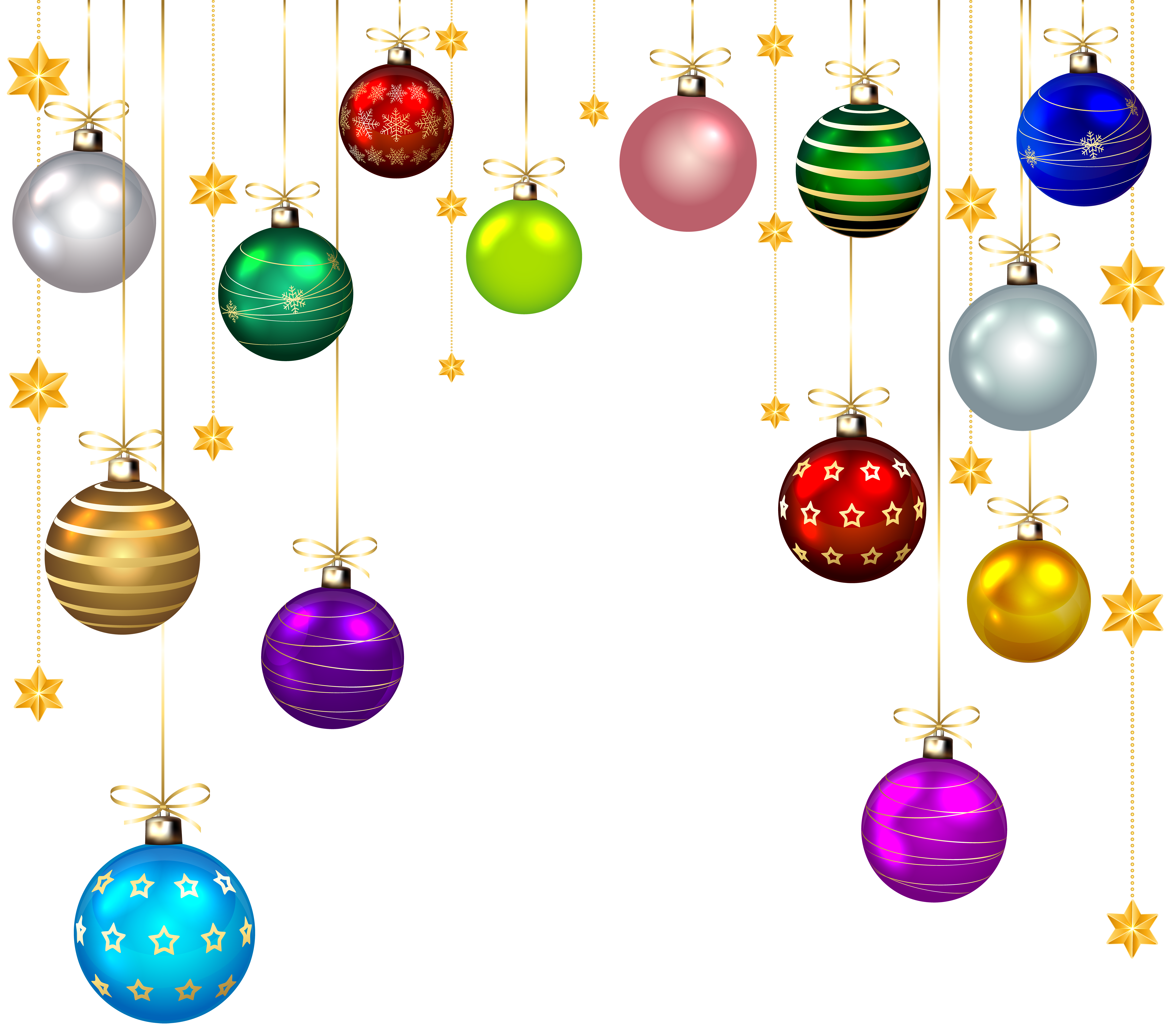 Christmas Balls Silhouette at GetDrawings | Free download