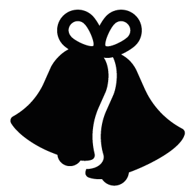 Christmas Bells Silhouette at GetDrawings.com | Free for ...