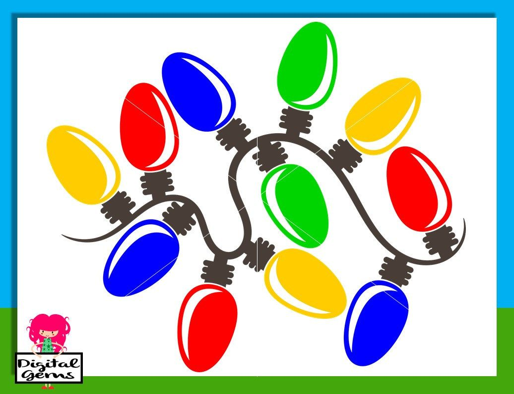 1036x796 Christmas Light Bulb Svg Dxf Eps Png Files. Digital Download