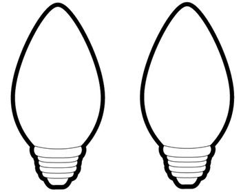christmas bulb silhouette at getdrawings com free for personal use rh getdrawings com christmas light bulb clipart black and white christmas light bulb clipart free
