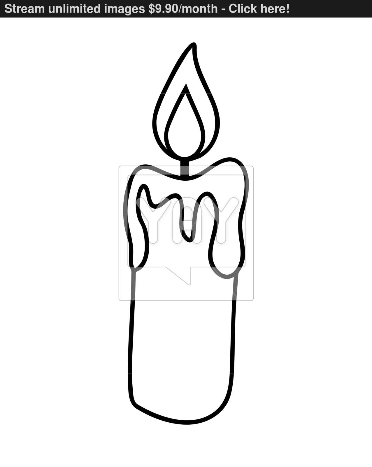 1276x1600 Christmas Candle, Burning Wax Candle Icon, Symbol, Design