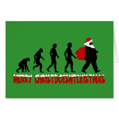 400x400 Secular Greetings Atheist Holiday Cards