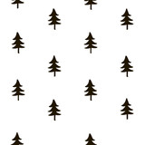 160x160 Snowflake Seamless Pattern. Christmas Wrapping Paper. Holiday Hand
