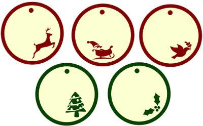 400x249 Christmas Gift Tags 4 Ways Whatcha Workin'