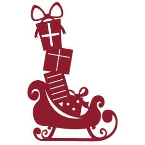 300x300 141 Best Stencils Silhouette Christmas Images