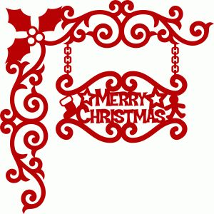 300x300 176 Best Christmas Silhouette Images On Die Cutting