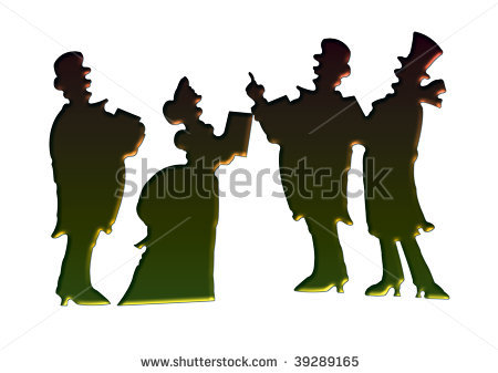 450x337 Vintage Christmas Silhouettes Free Css Templates Why Not