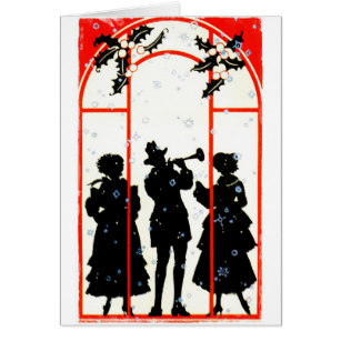 307x307 Christmas Carolers 1920 Gifts On Zazzle