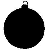 161x177 Christmas Silhouettes