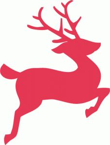 227x300 A Christmas Reindeer Clip Art, Merry And Holidays
