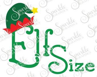 340x270 Elf Size Svg File Etsy