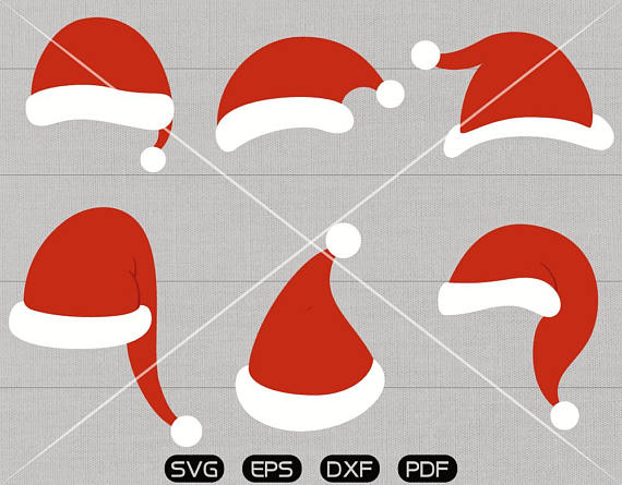 Christmas Hat Clipart.Christmas Hat Silhouette At Getdrawings Com Free For