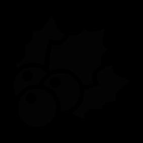 283x283 Christmas Mistletoe Silhouette Silhouette Of Christmas Mistletoe