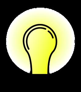 265x300 7439 Free Light Bulb Silhouette Vector Public Domain Vectors