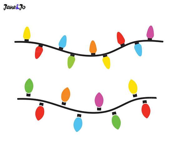 570x485 Christmas Lights Svgstring Of Christmas Lights Svgchristmas
