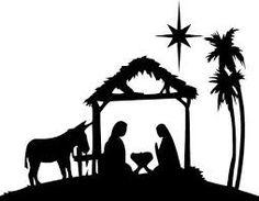 236x183 Free Silhoutte Nativity Scene Patterns Christmas Nativity