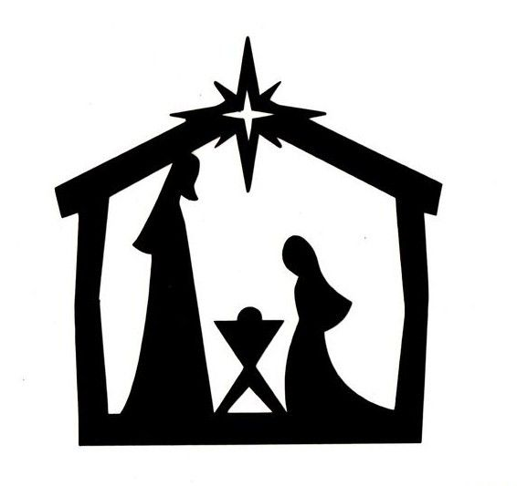 566x533 Image Result For Cricut Outdoor Christmas Silhouettes Amp Such