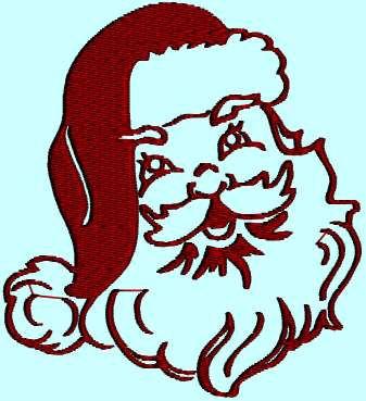 337x369 Santa Claus Silhouette Santa St Nicholas Chris Kringle Christmas