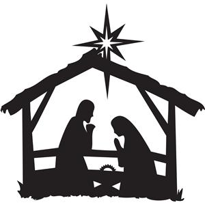 300x300 Nativity Silhouettestore Silhouette Design