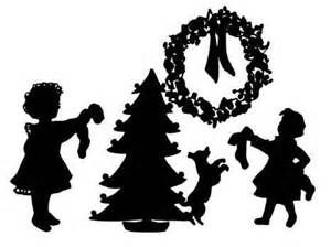 300x224 51 Best Christmas Silhouette Window Images On Xmas