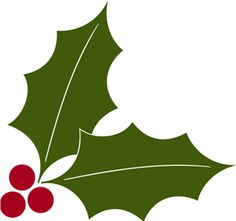 236x221 Holly Clipart Silhouette Collection