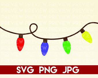 Christmas Lights Silhouette Png.Christmas Silhouette Lights At Getdrawings Com Free For
