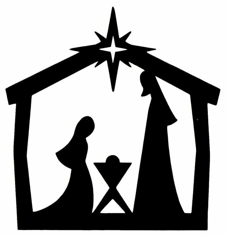Christmas Silhouette Scenes