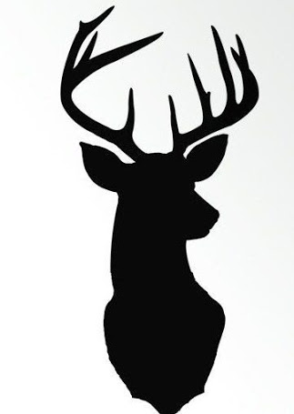 323x455 Deer Silhouette