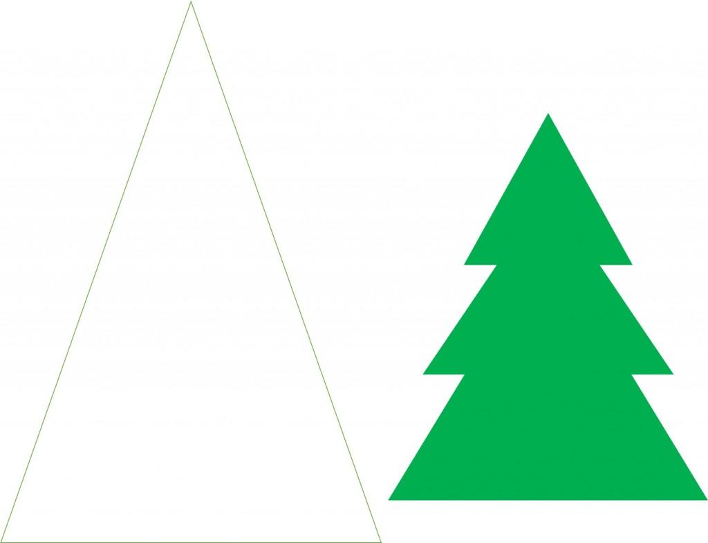 1024x786 Christmas Craft Idea Paper Trees