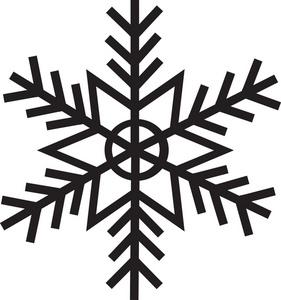 281x300 Free Snowflake Clipart Image