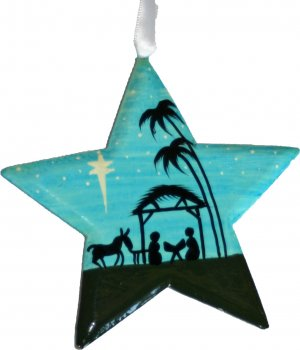300x350 Silhouette Nativity Star Christmas Decoration Free Delivery When