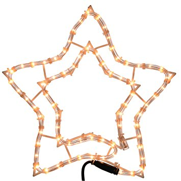 355x355 Werchristmas Star Rope Lights Silhouette Christmas Decoration, 34