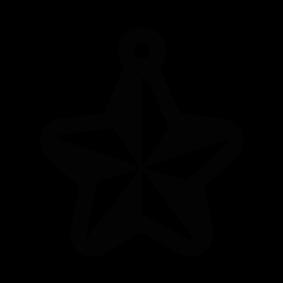 283x283 Christmas Star Silhouette Silhouette Of Christmas Star