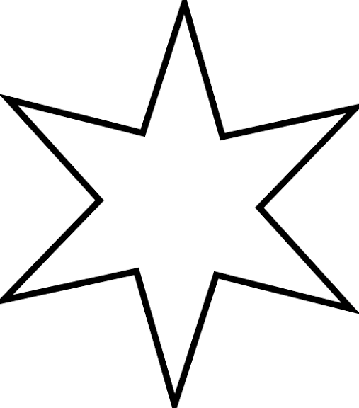 Christmas Star Silhouette Clip Art at GetDrawings.com | Free for ...